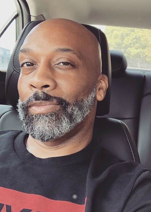 Rahsaan Patterson in an Instagram selfie as seen in July 2019