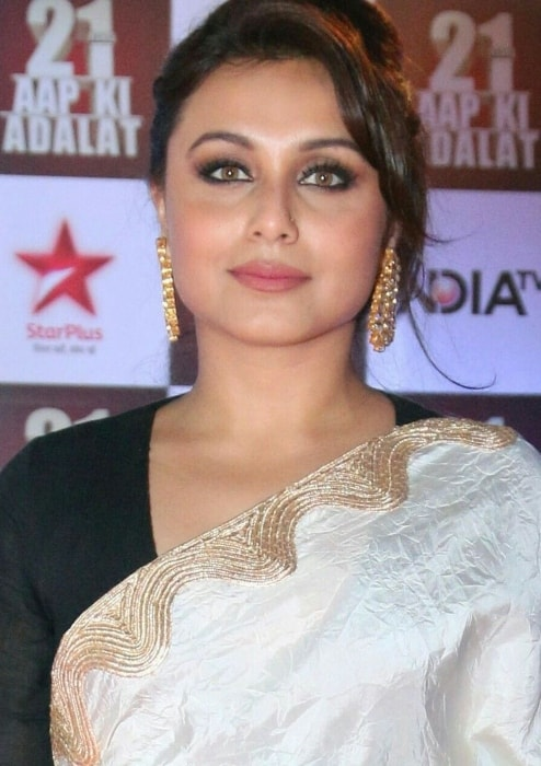 Rani Mukerji as seen at the 21 years celebration of reality show Aap Ki Adalat