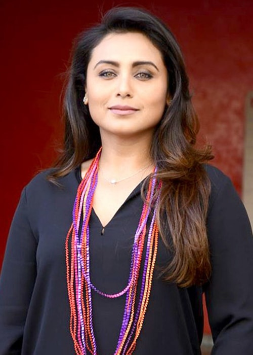 Rani Mukerji as seen during a promotional event of her film Hichki in 2018