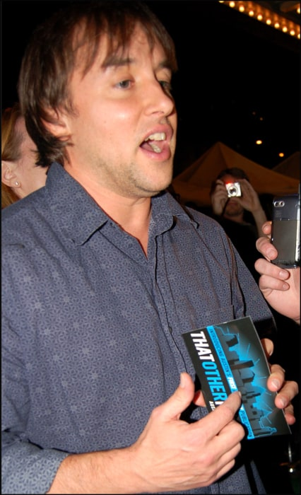 Richard Linklater interviewed during the Fast Food Nation premiere in November 2006
