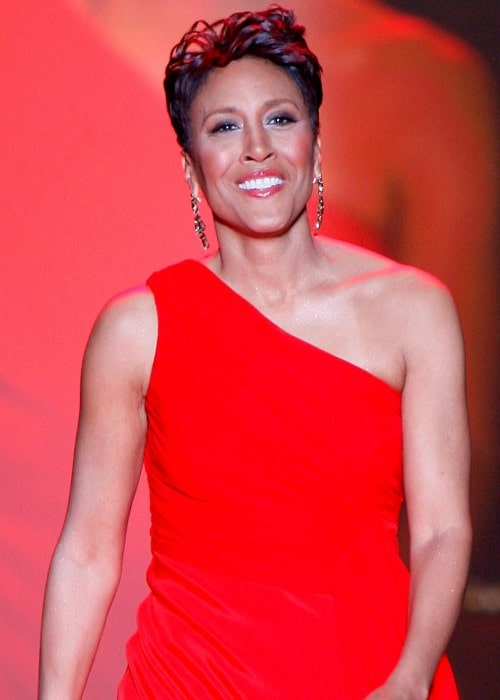 Robin Roberts at The Heart Truth's Red Dress Collection in 2010