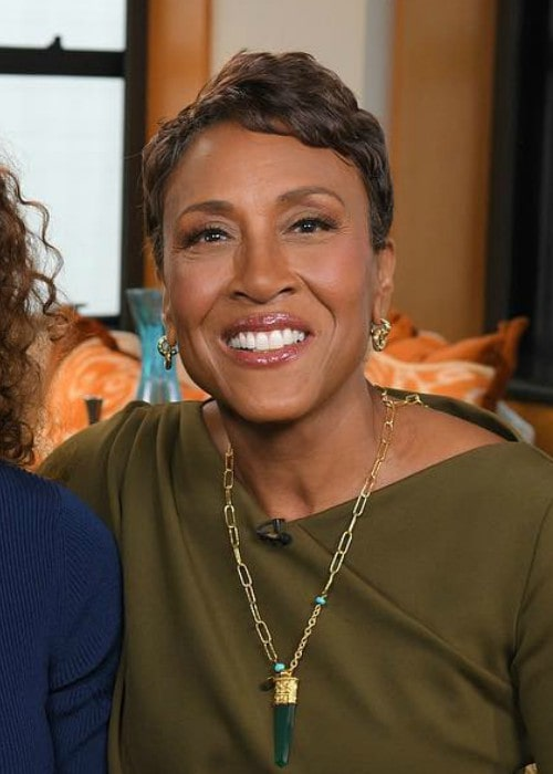 Robin Roberts in an Instagram post as seen in April 2018