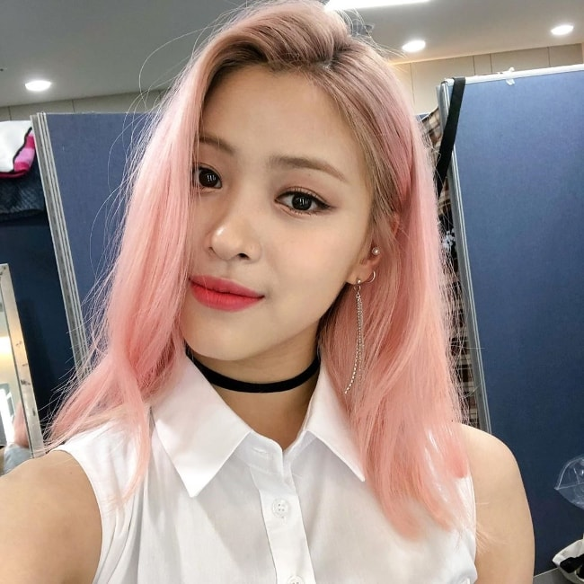 Ryujin as seen while taking a selfie in June 2019