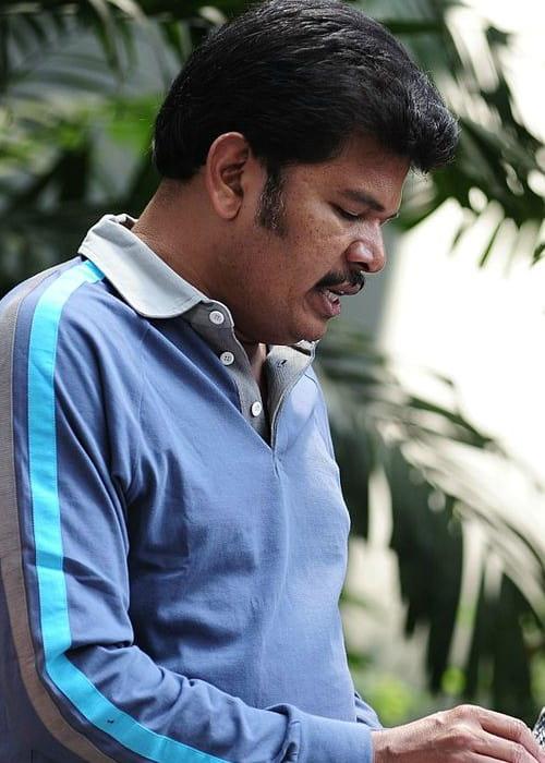 S. Shankar as seen in October 2016