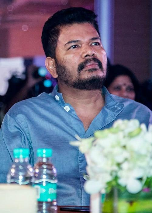 S. Shankar at Oru Kadhai Sollattumaa audio launch in November 2017