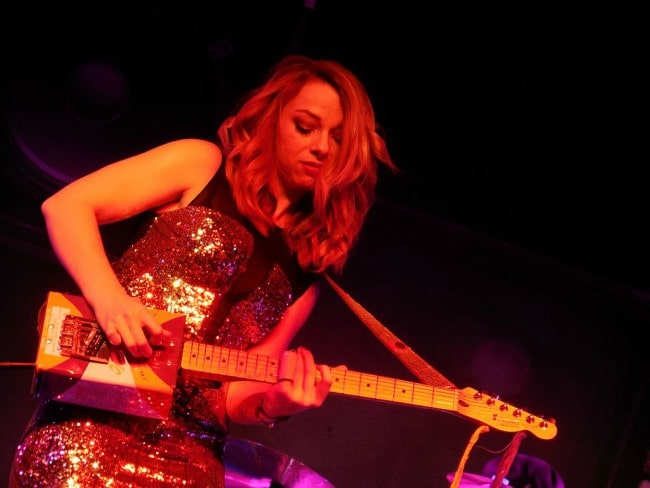 Samantha Fish during a performance in January 2015