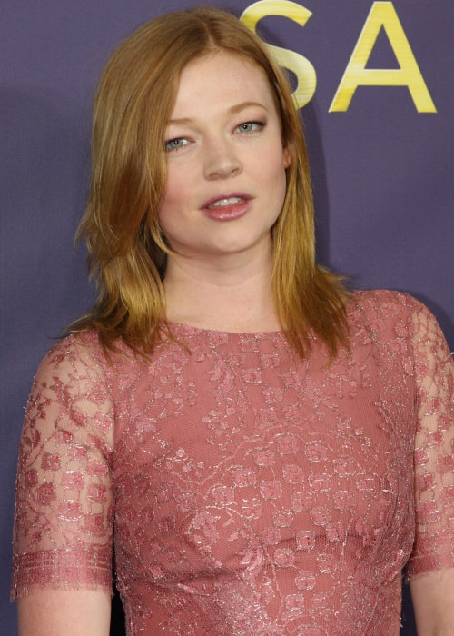 Sarah Snook as seen in a picture taken The Sapphires premiere in Sydney in August 2012