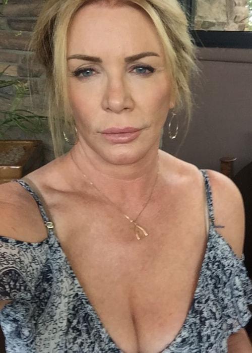 Shannon Tweed as seen in a selfie taken in July 2016