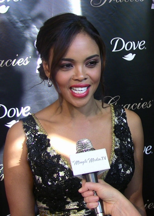 Sharon Leal as seen in a picture taken at the 36th Annual Gracie Awards Gala in May 2011