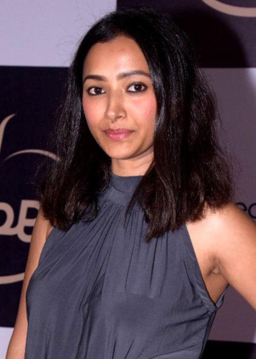 Shweta Basu Prasad as seen in a picturen taken at the launch of 'KUBE' in Mumbai in July 2017
