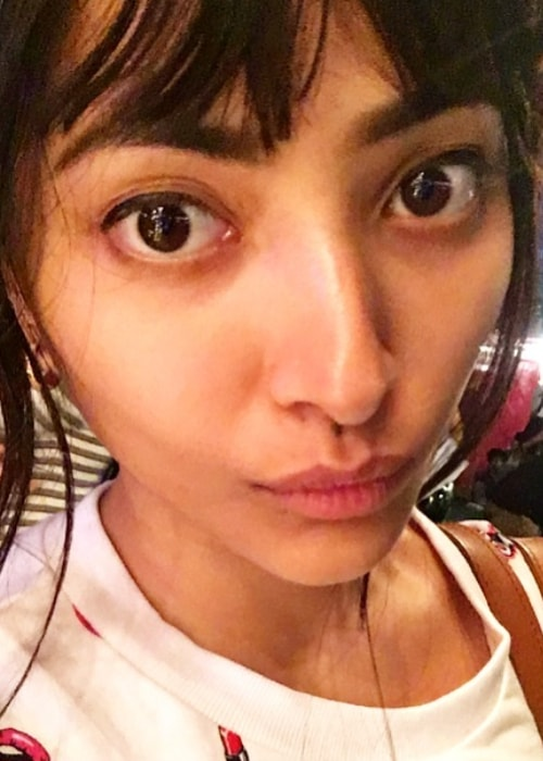 Shweta Basu Prasad as seen in a selfie taken February 2011