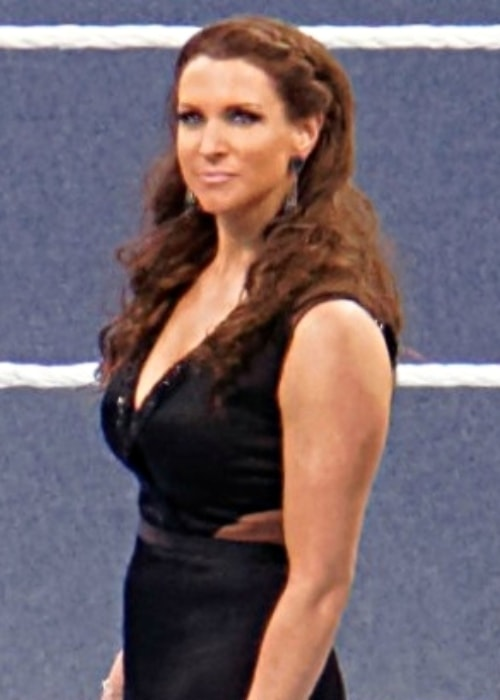 Stephanie McMahon as seen at WrestleMania 31 in March 2015