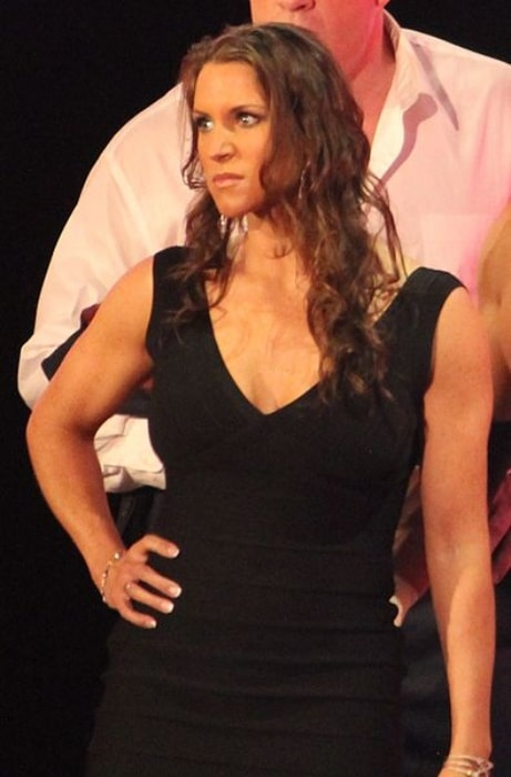 Stephanie McMahon as seen at the post-WrestleMania Raw in New Orleans, Louisiana in April 2014