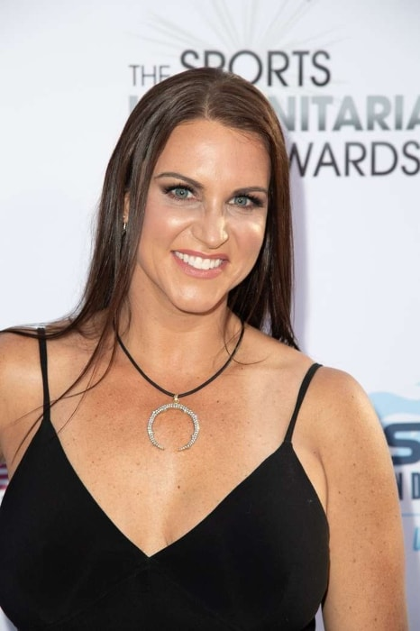 Stephanie Mcmahon as seen in June 2018