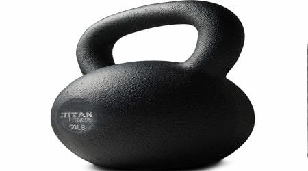 TITAN FITNESS Cast Iron Kettlebell 5-100 lb Review