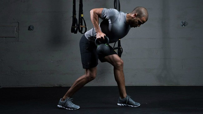 TRX Training Kettlebell Workout
