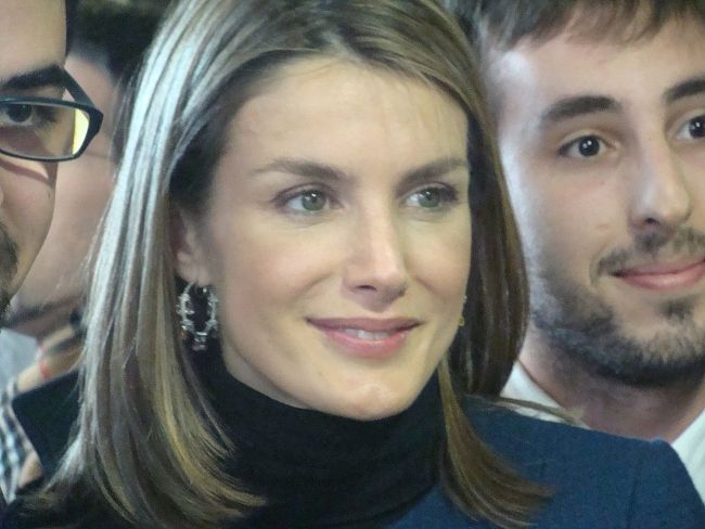The Princess of Asturias Letizia Ortiz Rocasolano as seen in 2008
