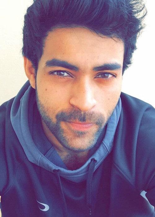 Varun Tej in an Instagram selfie as seen in November 2016