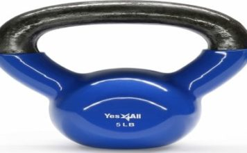 Yes4All Vinyl Coated Kettlebells Review