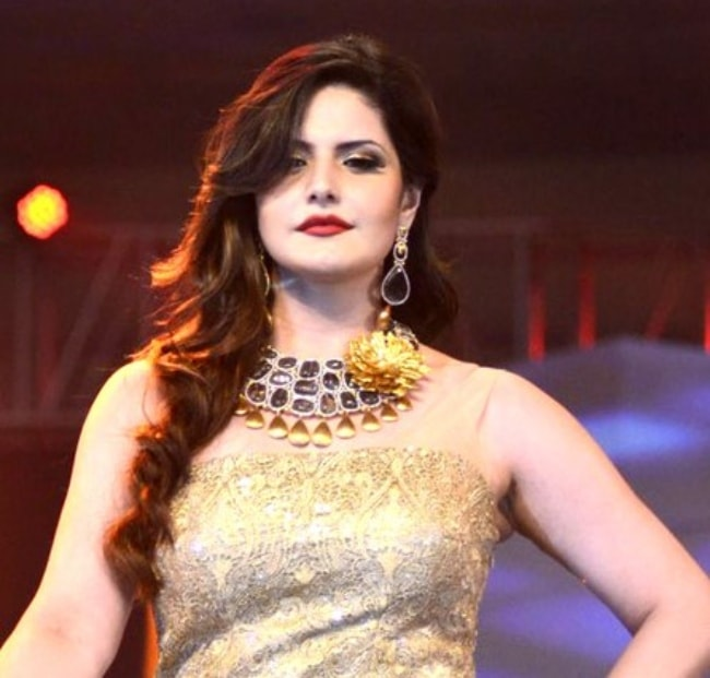 Zareen Khan as seen at IBJA awards and fashion showcase in 2019