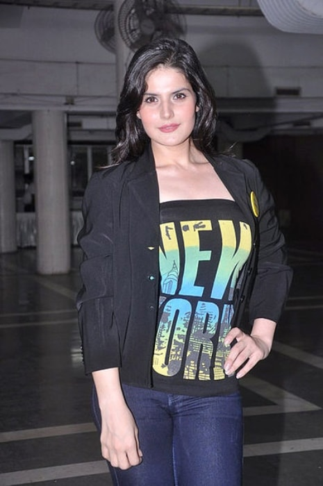 Zareen Khan as seen at the Shankar Ehsan Loy concert in May 2012