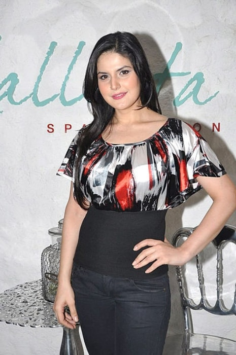 Zareen Khan as seen at the opening event of the Kallista Spa in June 2012
