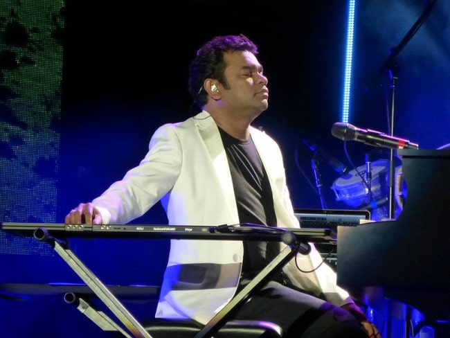 A. R. Rahman as seen in June 2015