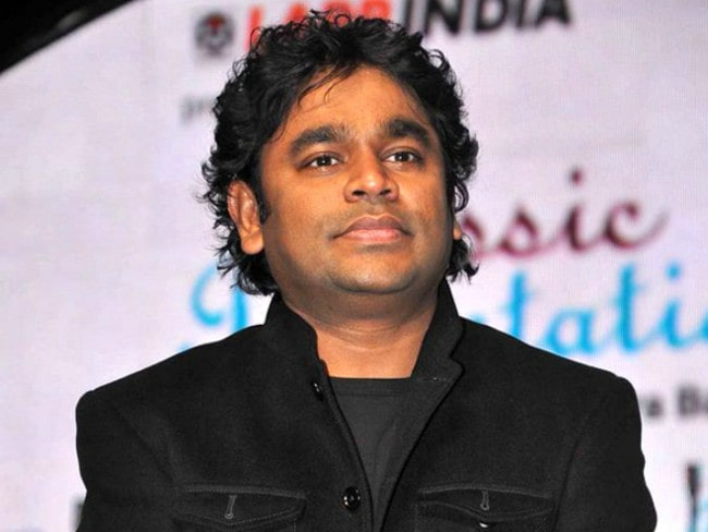 A. R. Rahman at the 57th FF Awards in January 2012