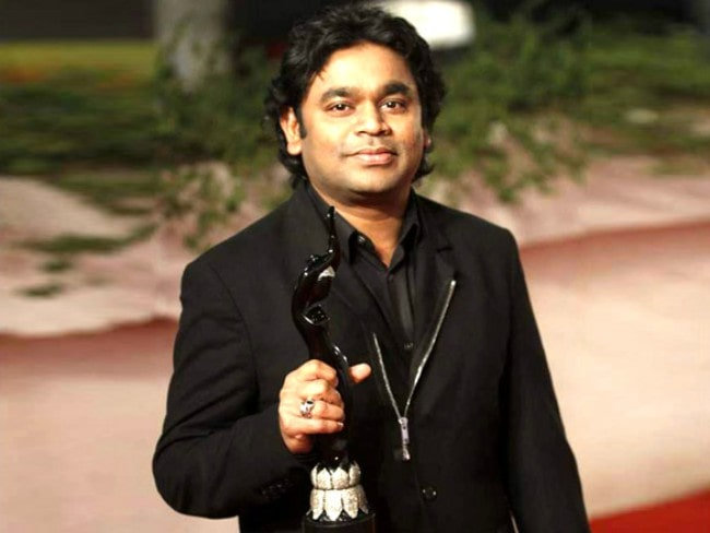 A. R. Rahman during an event in 2012