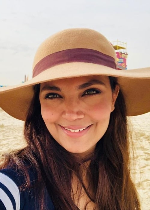 Aamina Sheikh as seen in a selfie taken in May 2019