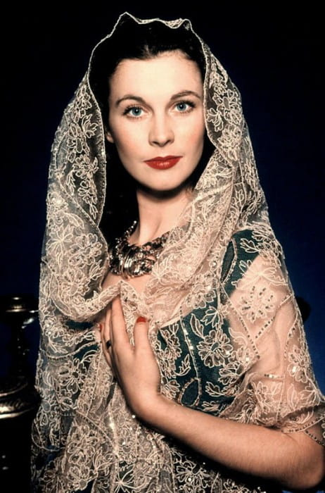 Actress Vivien Leigh