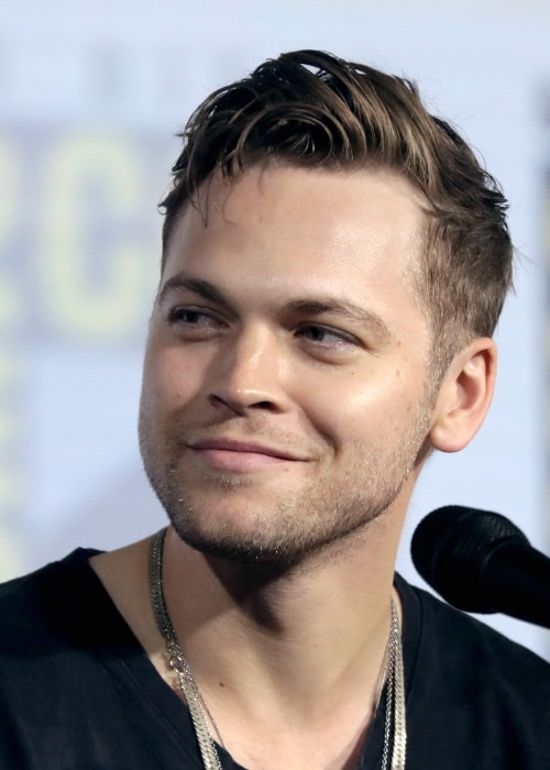 Alexander Calvert as seen in a picture taken at the 2019 San Diego Comic-Con International, for 'Supernatural', at the San Diego Convention Center in San Diego, California, United States in July 2019