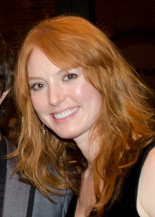 Alicia Witt as seen in a picture taken at the at Mechanics Hall in Worcester in December 2012