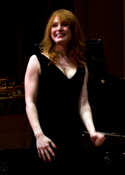 Alicia Witt as seen in a picture taken in Mechanics Hall in Worcester in December 2012