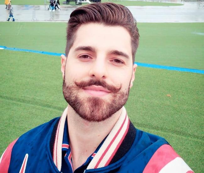Alok in an Instagram selfie as seen in September 2019