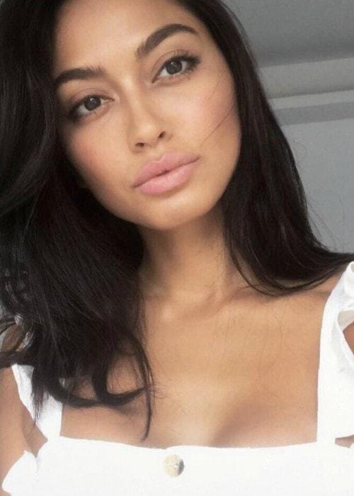 Ambra Battilana Gutierrez in an Instagram selfie as seen in October 2018