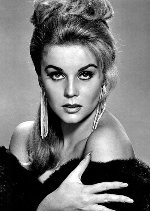 Ann-Margret as seen while posing for a stunning black-and-white picture in the 1960s