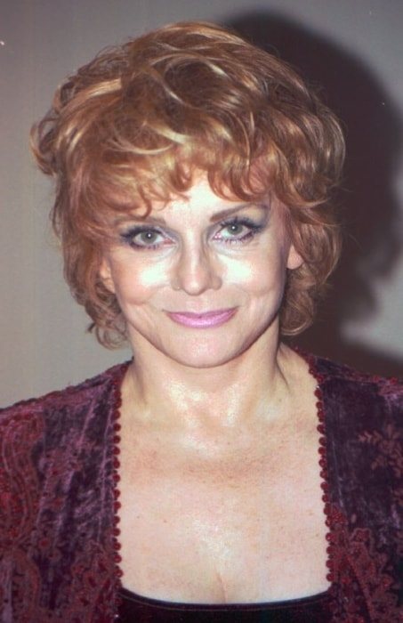 Ann-Margret as seen while smiling in a picture in October 2010