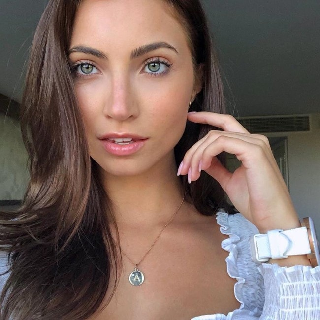 Anna Louise as seen in August 2019