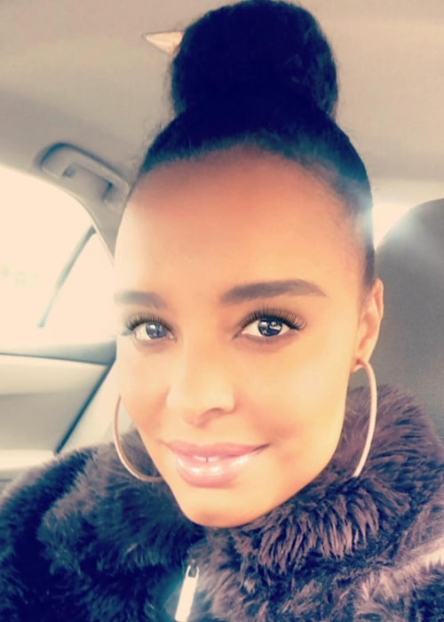 Antonique Smith as seen in a selfie taken in January 2019