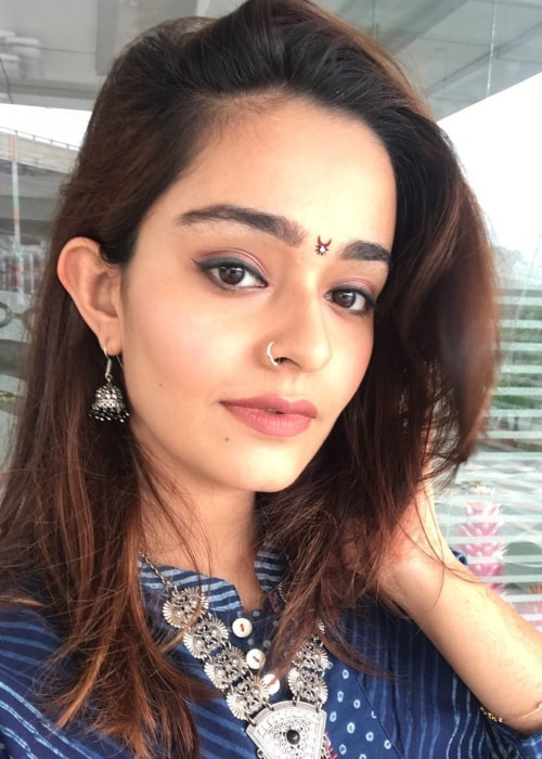 Apoorva Arora as seen in a selfie taken in October 2017