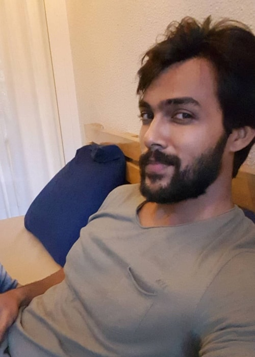 Arav Nafeez as seen in a selfie taken in June 2019