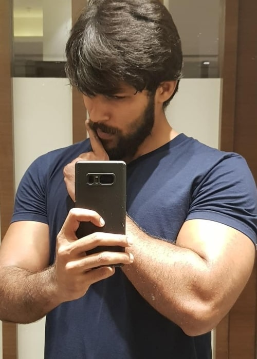Arav Nafeez as seen in a selfie taken in September 2018