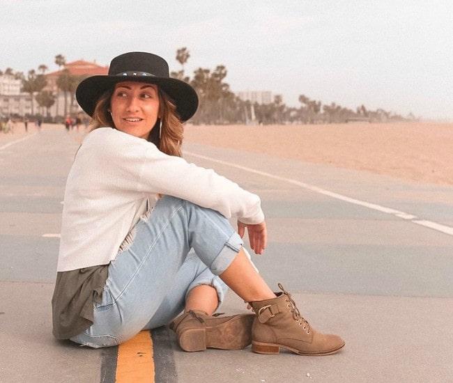 Arielle Scarcella in an Instagram post in August 2019
