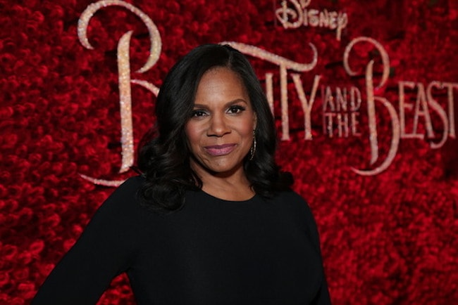 Audra McDonald at Beauty and the Beast Premiere in 2017