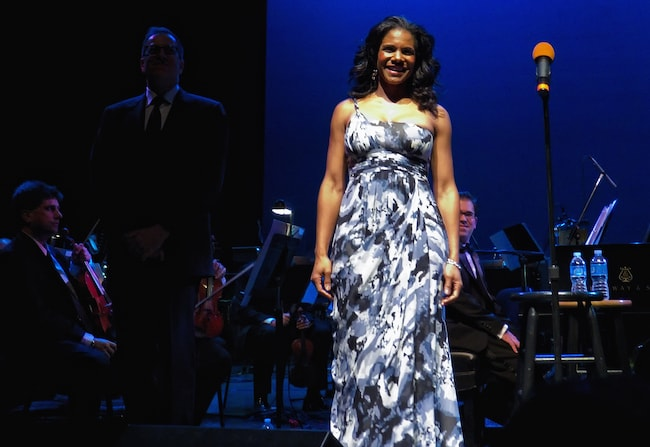 Audra McDonald performing with Alabama Symphony Orchestra in 2011