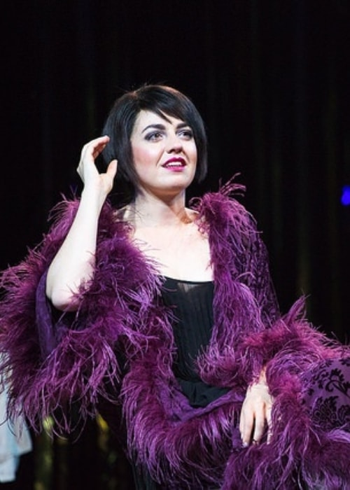 Barrett Wilbert Weed as seen in a picture taken during the Signature Theatre's production of 'Cabaret' in May 2015