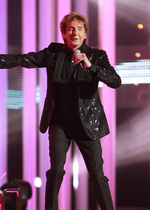 Barry Manilow at The Nobel Peace Price Concert in 2010