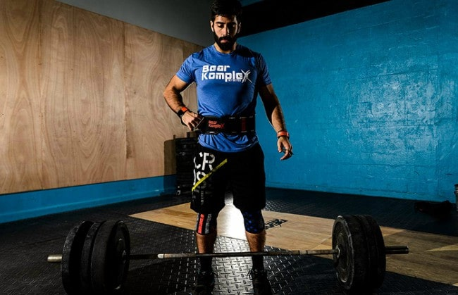 Bear Komplex Weightlifting Belt Workout