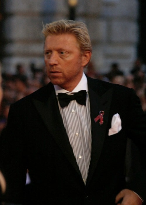 Boris Becker on the red carpet of the Life Ball in 2010